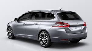peugeot estate cars peugeot 308 sw 2014 first official pictures by car magazine