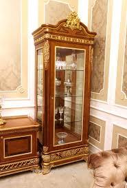 2015 0062 italian classic antique living room display showcase
