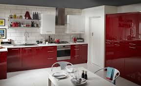Red Gloss Kitchen Doors Cabinet Red Gloss Kitchen Cabinets Modern High Gloss Kitchen K C R