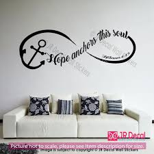 wall decals home decor hope anchors