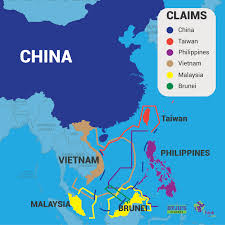 Spratly Islands Map South China Sea An Insight Byjus