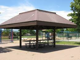 Sheridan Grill Gazebo by Southbridge Park South Suburban Parks And Recreation Littleton Co