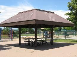 Sheridan Grill Gazebo by Southbridge Park South Suburban Parks And Recreation Littleton Co