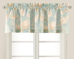 Matelasse Valance Shell Valances Complement Every Coastal Room Many Choices