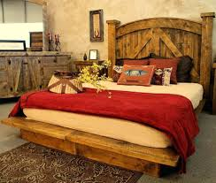 Rustic Bed Rustic Style Bed U2013 Thepickinporch Com