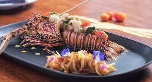 cuisine i idyllic concept resort