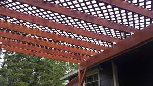 How To Build A Detached Patio Cover How To Build A Diy Covered Patio