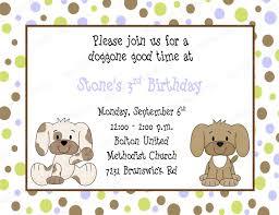 puppy birthday invitations reduxsquad com