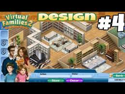 house design 2 games virtual families 2 house design 4 youtube
