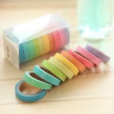 aliexpress com buy 10pics box rainbow solid color japanese