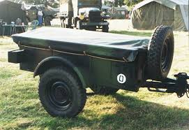bantam jeep for sale bantam 1943 jeep trailer modified for french army use