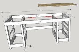 fabriquer un bureau avec des palettes chambre bureau palette diy une commode en palettes bois bureau