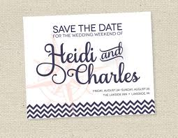 Nautical Save The Date Print Your Own Nautical Save The Date Cards Wedding Invitations