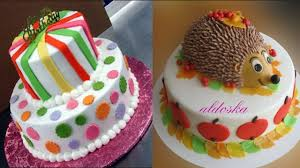 top 15 easy birthday cake decorating ideas oddly satisfying cake