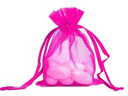 pink organza bags ya ya 5x7 organza bags 10 pk favor bags