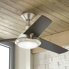 gardinier 52 in led brushed nickel ceiling fan amazon com