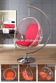 eero aarnio style replica standing ball acrylic chair 360 degree