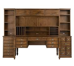 Office Hutch With Doors Printer U0027s Large Hutch With Doors Pottery Barn