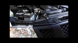 nissan frontier front bumper how to remove or install nissan frontier navara front grill