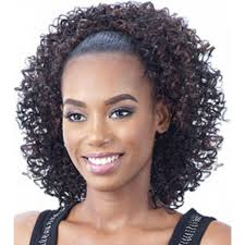 Black Hair Styles Extensions by Ponytail With Bangs Black Hair Women Medium Haircut