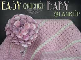 baby girl crochet baby blanket pattern tgif this is