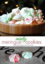 minty meringue cookies recipe feelings cookies and martha stewart