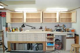 Building Woodworking Bench Garage Best Mobile Workbench Garage Workbench With Shelves