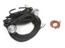 led strobe light kit buyers dual led strobe light kit 8891215 clear