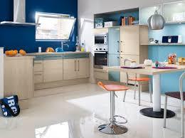 decoration mur cuisine cuisine bleu marine colores couleurs decoration