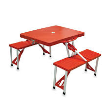 Folding Picnic Table With Benches Furniture Farmhouse Outdoor Furniture Style With Lowes Picnic