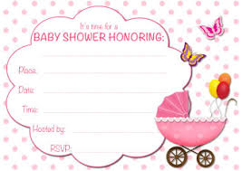 baby shower invites for girl free baby shower invitations for marialonghi