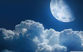 clouds and moon wallpapers and images wallpapers pictures photos