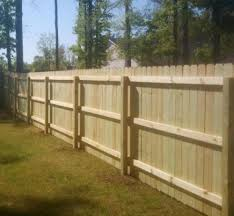 wood privacy fences this is the inside of a standard wo