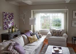 my plum infused living room lia griffith