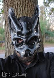 Wolf Mask Granite Leather Beta Wolf Mask By Epic Leather On Deviantart