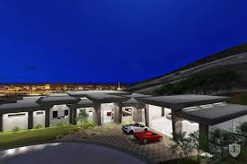 8 car garage rocket new modern single story with strip views 8 car garage
