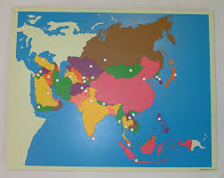 Asia Continent Map by File Asia Map Jpg Montessori Album