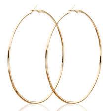 large hoop earrings fashion 90 100mm silver gold large hoop earrings