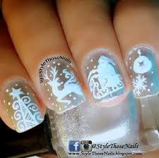 white christmas nail art mailevel net