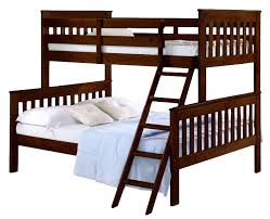 donco kids twin over full standard bunk bed u0026 reviews wayfair