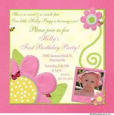 bug birthday invitation summer cutest event pink u0027s