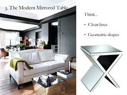 mirrored pyramid living room accent side end table living room accent table image of square accent tables for living