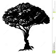 faces tree concept stock vector image 49376420