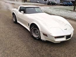 1981 white corvette 1981 chevrolet corvette coupe 2 door 5 7l white with interior