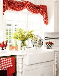 Swag Kitchen Curtains Kitchen Curtains Swags Valances Curtain At Custom Window