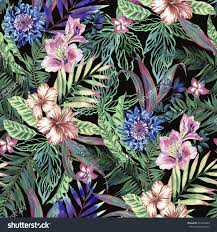 allover stock photos images pictures shutterstock tropical floral
