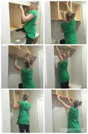how to hang a cabinet to the wall how to hang a cabinet using a cleat sawdust