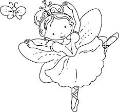 plain ideas fairy princess coloring pages barbie fairies pinterest