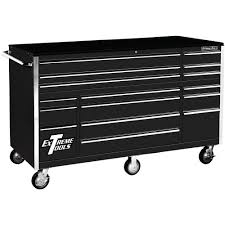 professional tool chests and cabinets extreme tools thd series 72 in 16 drawer roller cabinet tool chest