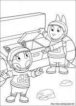 free backyardigans coloring book pages dibujos colorear